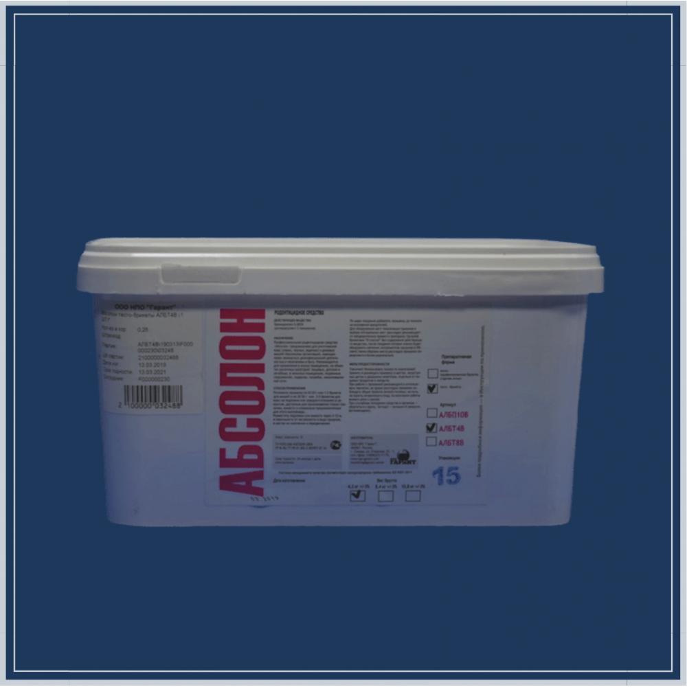 АБСОЛОН тесто-брикеты 4 кг п/э ведро