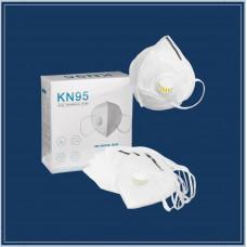 Многоразовая 5 слойная маска с клапаном KN95 FFP2(1ШТ)