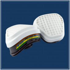 Сменные фильтры Elipse AВЕК1Р3 для полумасок SPR490/491 комплект 2 шт